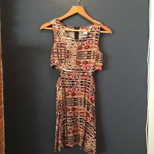 Dresses & Skirts - Tribal pattern with cut-outs